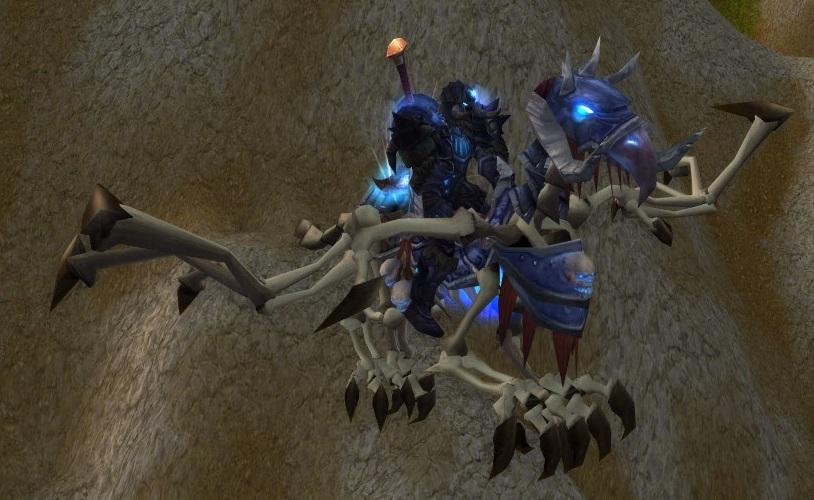 winged steed of the ebon blade spells wowdb