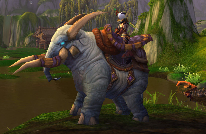 how to get draenei paladin mount