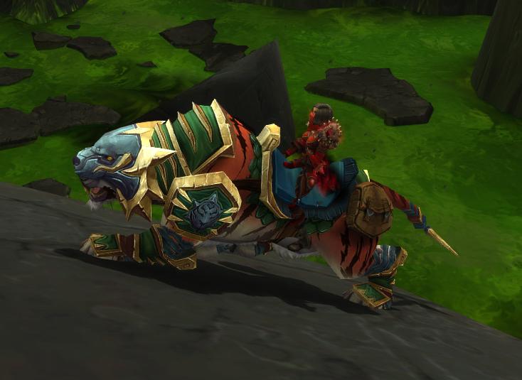 troll riding a goat green shado pan riding tiger spells wowdb