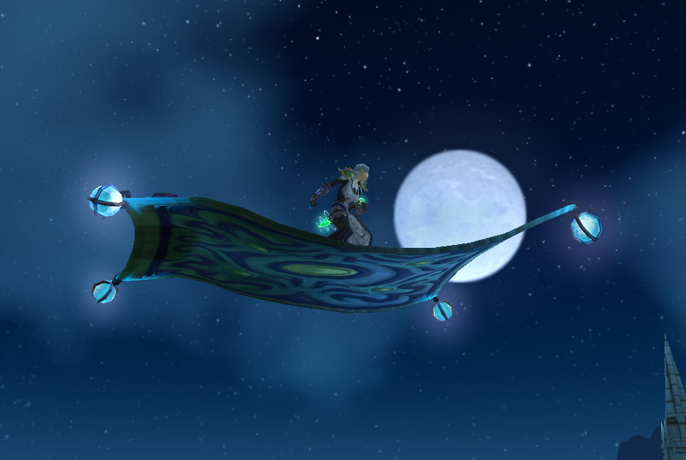 Submitted by Tziva. Frosty Flying Carpet ...